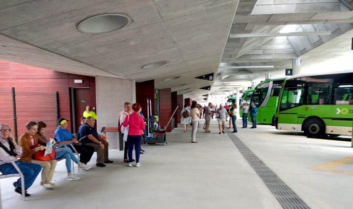Estacion de guaguas del Puerto de la Cruz