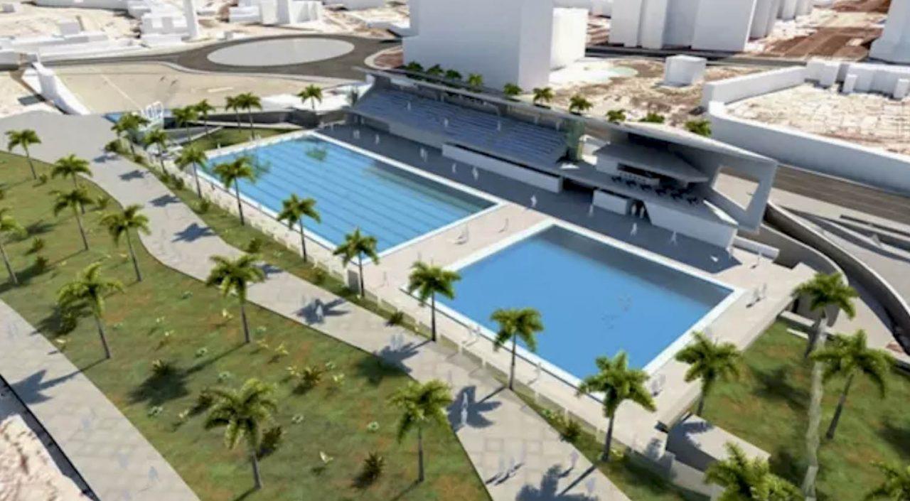 Infografia del Proyecto del Centro Insular de Deportes Acuáticos en el Puerto de la Cruz