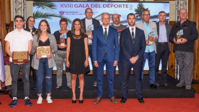 Galardonados los mejores deportistas 2019 de La Orotava