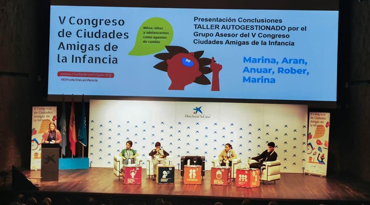 V Congreso Nacional de Ciudades Amigas de la Infancia (2)
