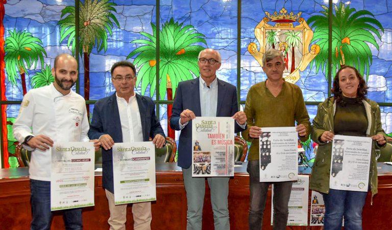 Santa Úrsula se cita este fin de semana con los productos agroalimentarios de Canarias