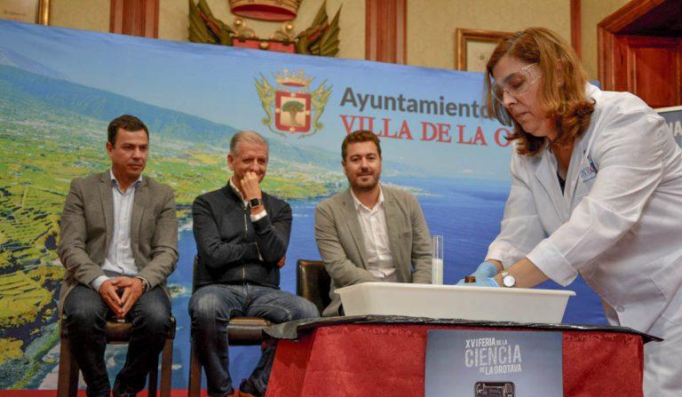 El próximo domingo llega a La Orotava la Feria de la Ciencia