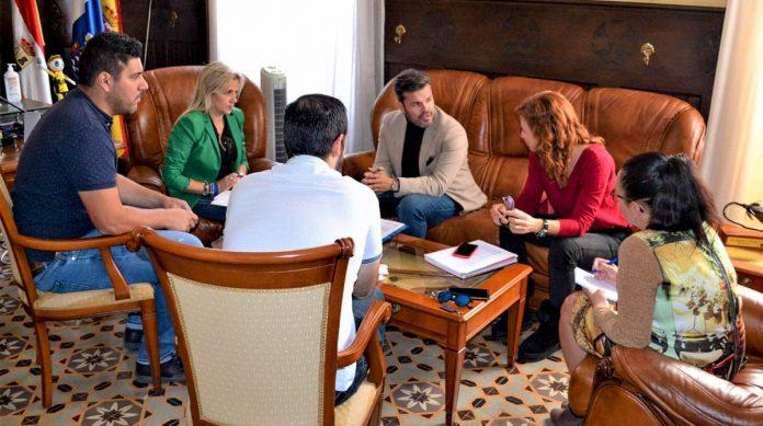 Reunión Cabildo-Ayuntamiento de Los Silos