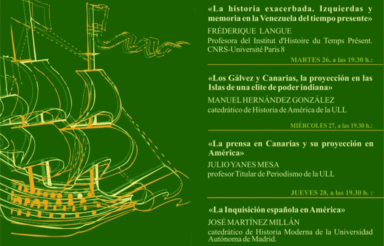 Llega la XXII edición de la Semana de Historia de América al IEHC