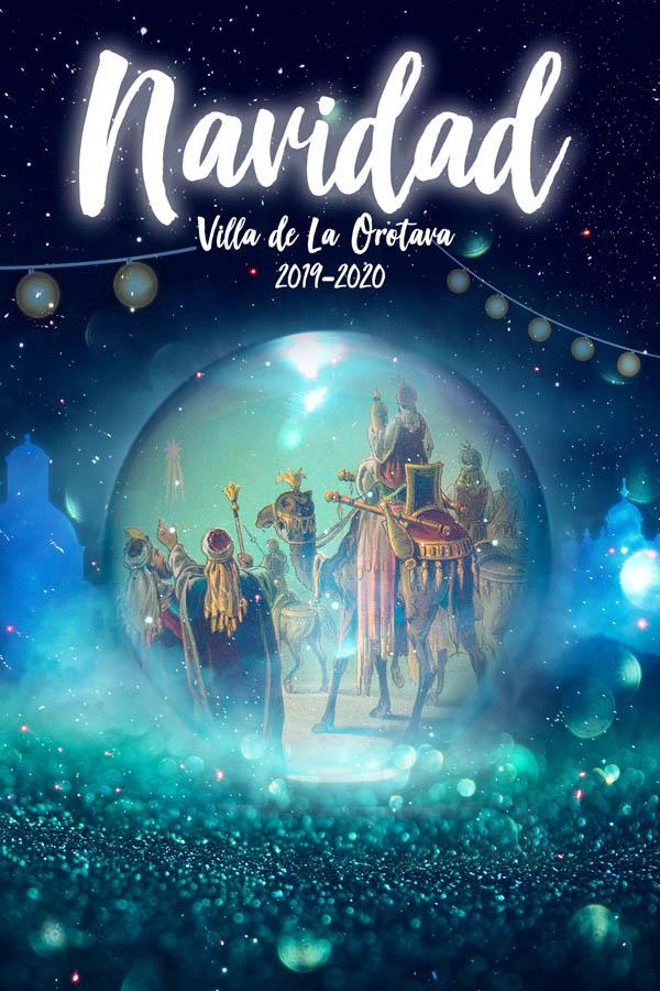 cartel Navidades en La Orotava 2019-2020