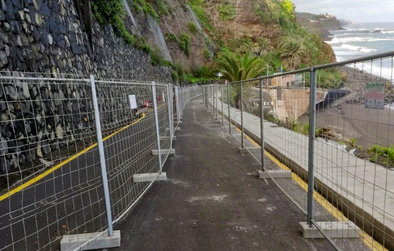 Habilitado el acceso peatonal a la playa El Socorro