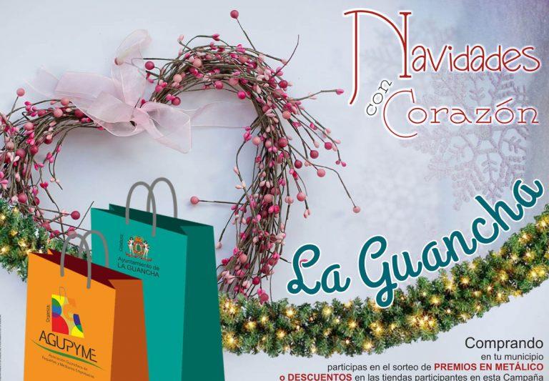El comercio en La Guancha se sumerge en la Navidad
