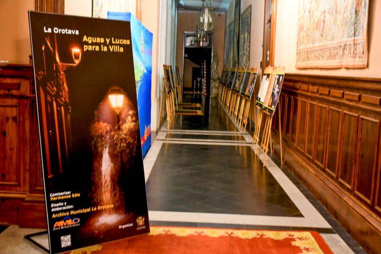 Exposición 'Aguas y Luces para la Villa' en La Orotava