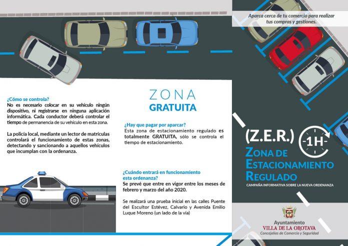 Folleto de la zona ZER 1