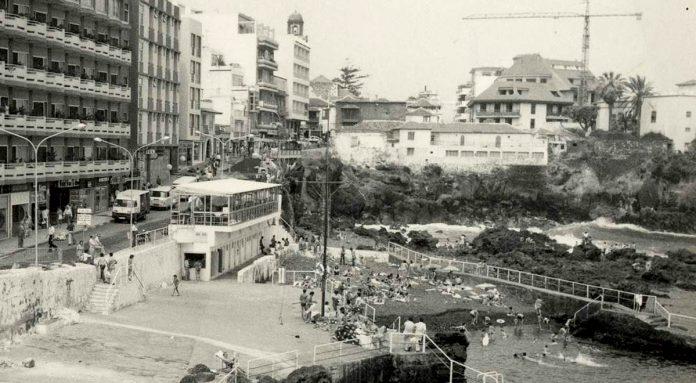 Imagen antigua del Paseo San Telmo