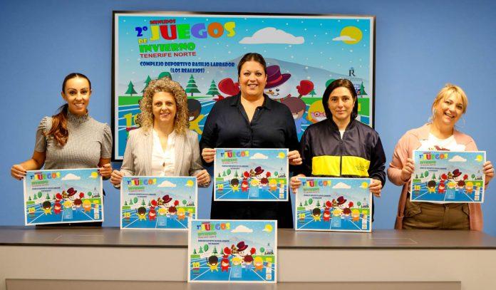 Presentación 2º Menudos Juegos de Invierno Tenerife Norte