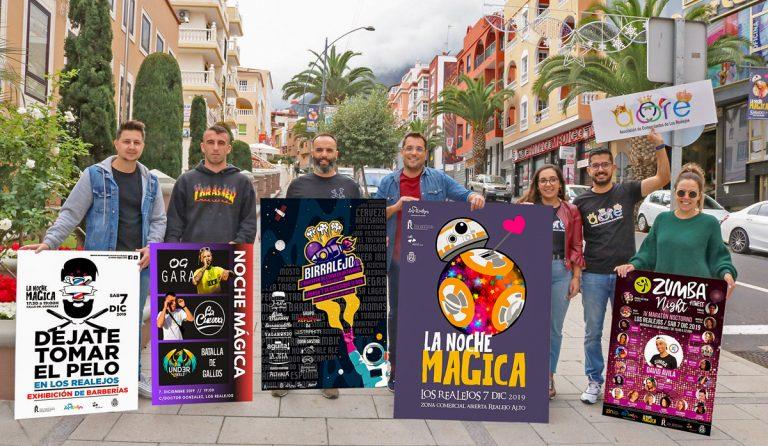 Este sábado se celebrará 'La Noche Mágica' en Los Realejos