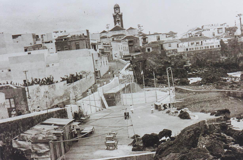 Imagen de San Telmo desde la Ermita