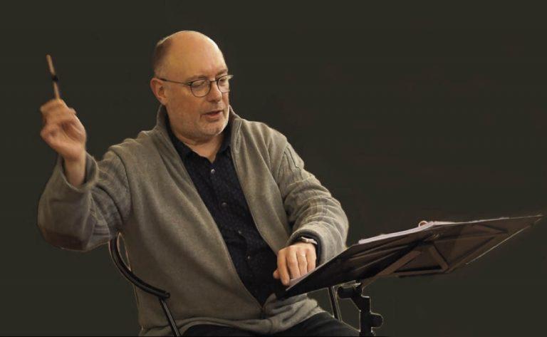 El reconocido director Erik Van Nevel este viernes en el 'Puerto de la Cruz Bach Festival'