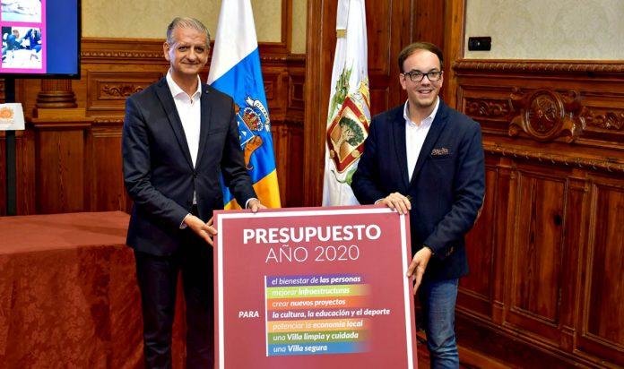 presentación presupuestos para 2020 en La Orotava