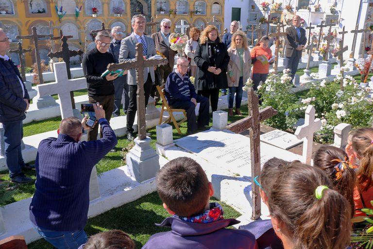 Se rindió homenaje a Agustín Espinosa en el 81 aniversario de su muerte