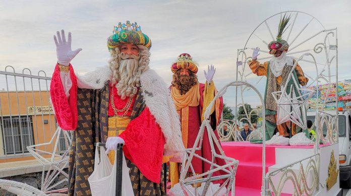 Cabalgata de Reyes en Los Realejos