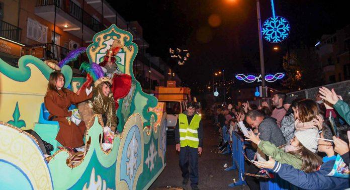 Cabalgata de Reyes en Santa Úrsula