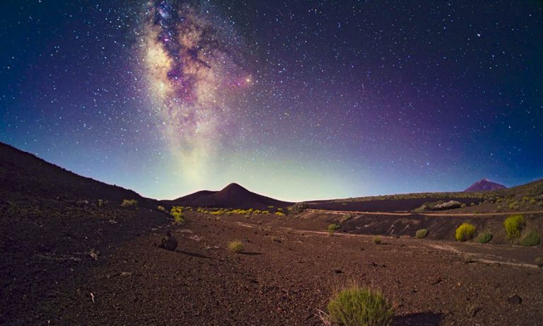 Se organiza en La Guancha una actividad para la visión noctura del cielo en el Parque Nacional del Teide