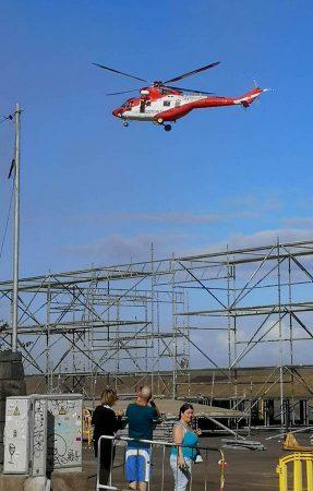 Helicoptero del GES