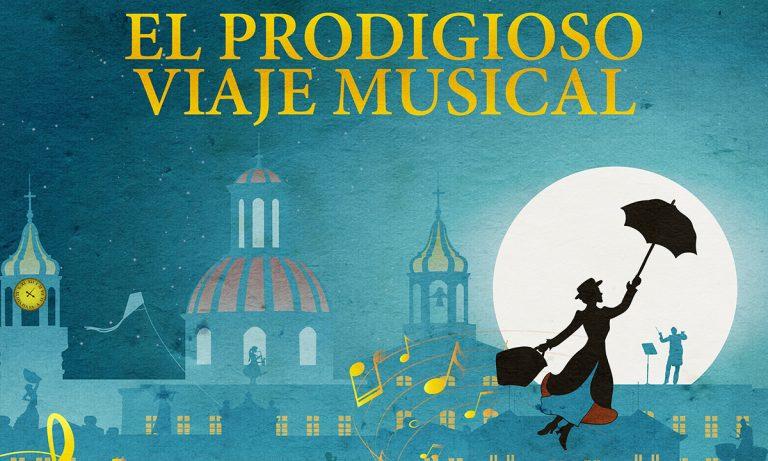 Concierto inspirado en Mary Poppins de la Orquesta Filarmónica Juvenil de Tenerife en La Orotava