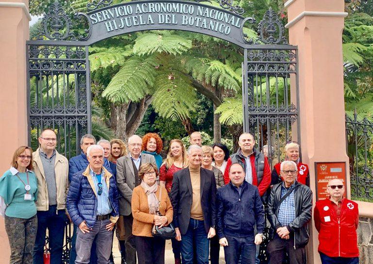 Se preparan visitas didácticas en la Hijuela del Botánico en La Orotava