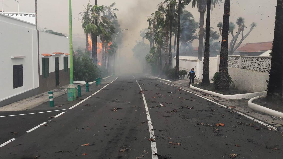 Carretera de Las Arenas 1 fuegos