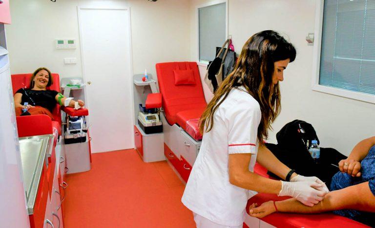 Campaña para promover la donación de sangre en La Orotava