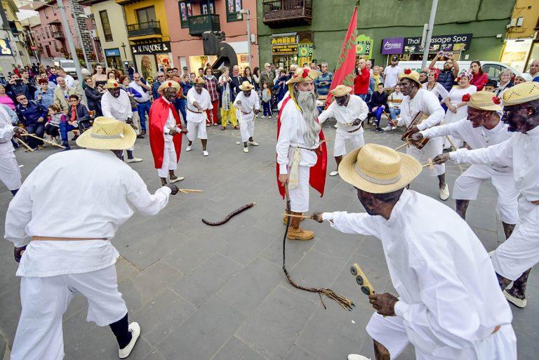 Puerto de la Cruz celebró el ritual del Mataculebra