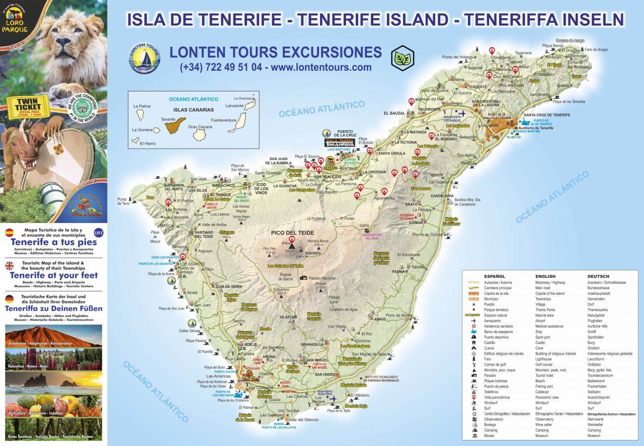 La Empresa Portuense Lonten Tours Promueve Un Mapa Turistico De