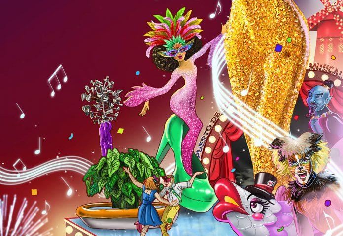 Parcial del Cartel del Carnaval 2020 del Puerto de la Cruz