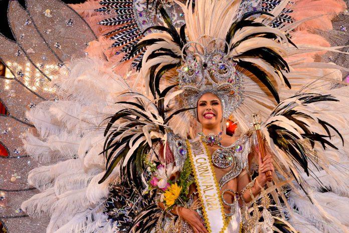 Tamara Martín Gil Reina del Carnaval del Puerto de la Cruz 2020 - Imagen 1