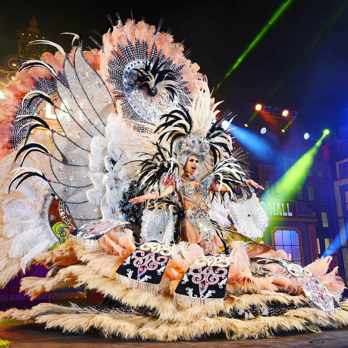 Tamara Martín Gil Reina del Carnaval del Puerto de la Cruz 2020 - Imagen 3
