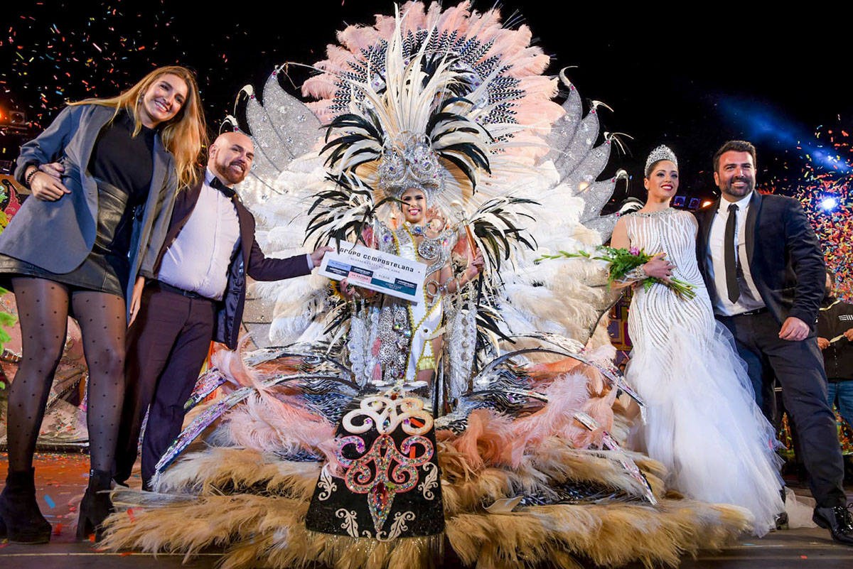 Tamara Martín Gil Reina del Carnaval del Puerto de la Cruz 2020 - Imagen 2