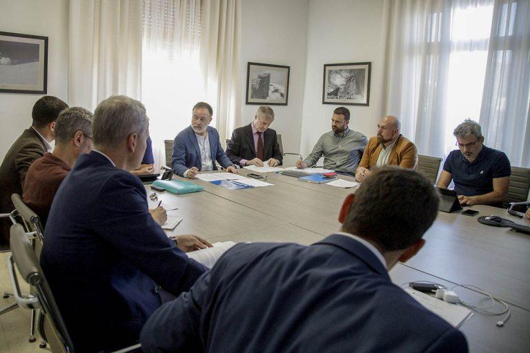 El Consorcio informó del inicio de la Fase I de las obras de la rehabilitación del Hotel Taoro