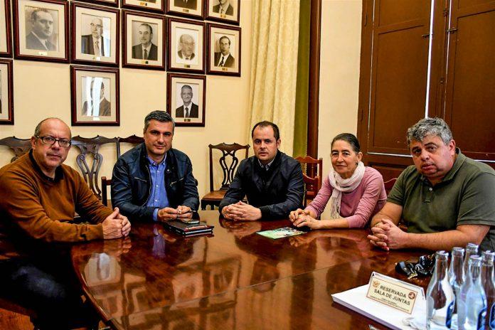 Reunion en el Ayuntamiento de La Orotava