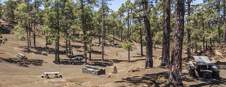 Las áreas recreativas y zonas de acampada de la isla permanecerán cerradas hasta el lunes