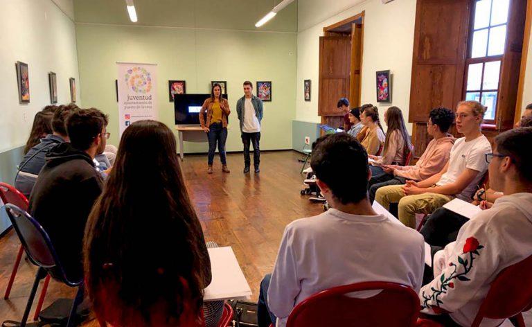 Comienza el proyecto formativo LINC-S para jóvenes del municipio en materia de liderazgo, innovación y  creatividad