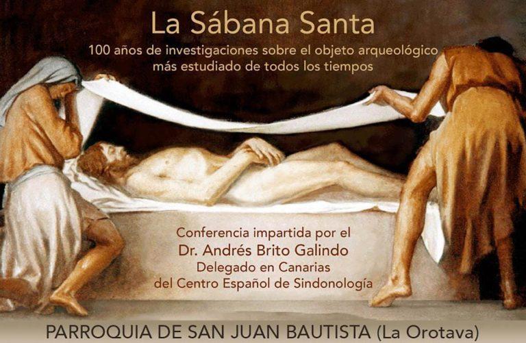 Charla sobre 'La Sábana Santa' en La Orotava