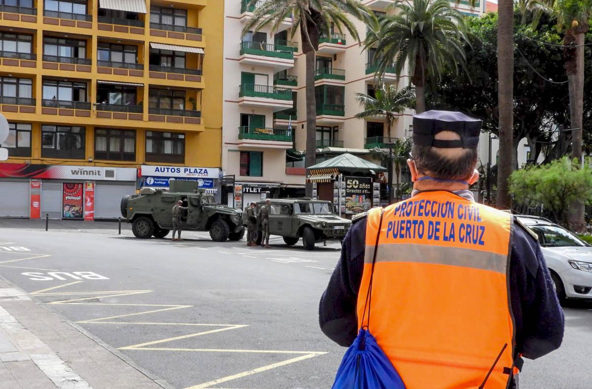 Dia 11 - La calle en imagenes durante el coronavirus en Puerto de la Cruz - Foto 6