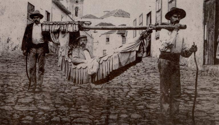 El Puerto de la Cruz en 1820