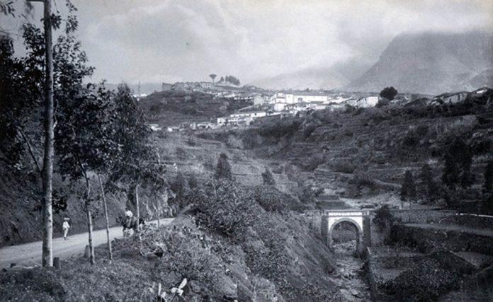 Imagen de 1893 del Realejo Bajo