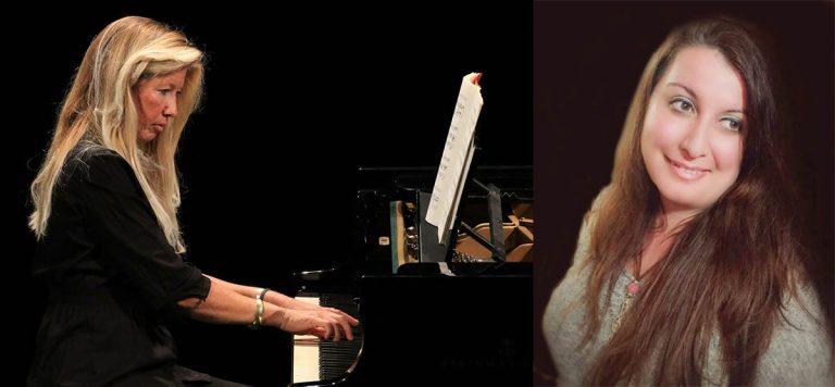 La soprano Beatriz Siverio y la pianista Amparo de la Hera este domingo en el Matinee Concert