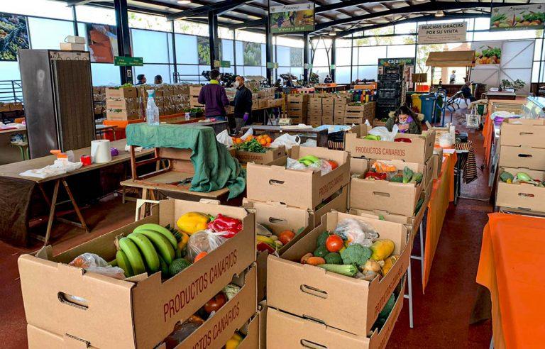 El Mercadillo del Agricultor de La Orotava ofrece servicio a domicilio en la comarca