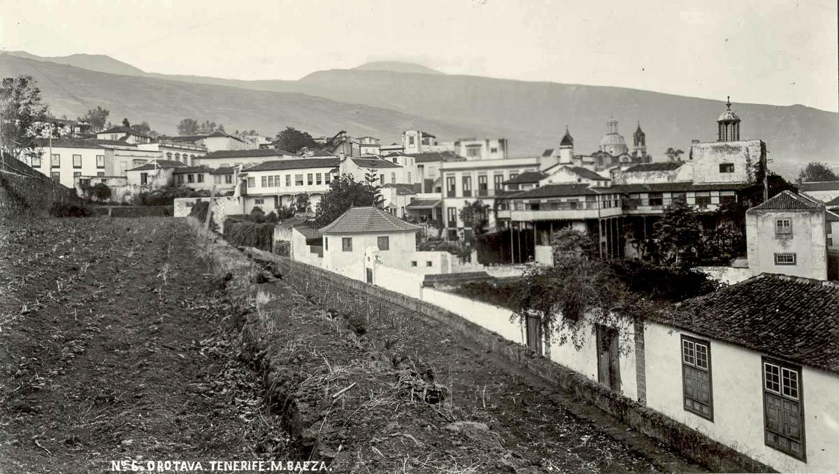 Vista de La Orotava (Foto Marcos Baeza)