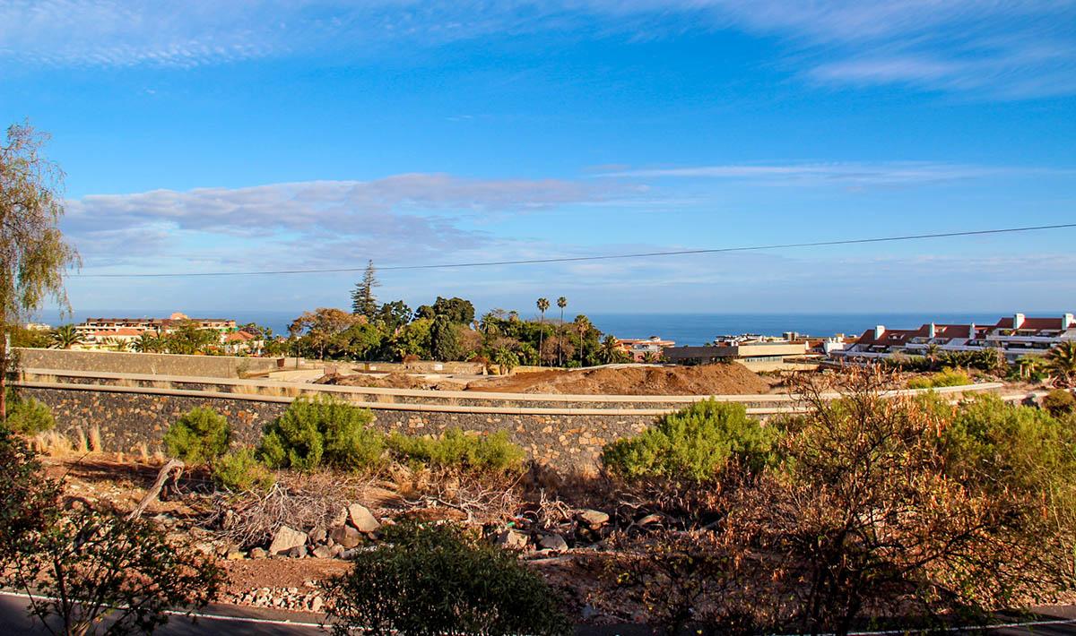 Zona de expansion del Jardin Botanico del Puerto de la Cruz