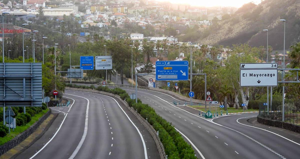 Carreteras vacias - jueves santo - 9-4-2020 IMG 2