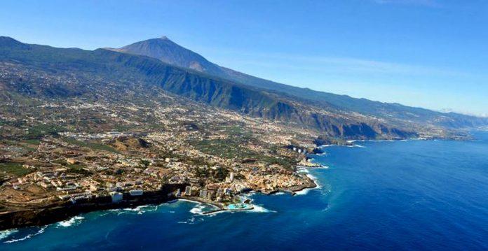 Foto aerea del Norte de Tenerife