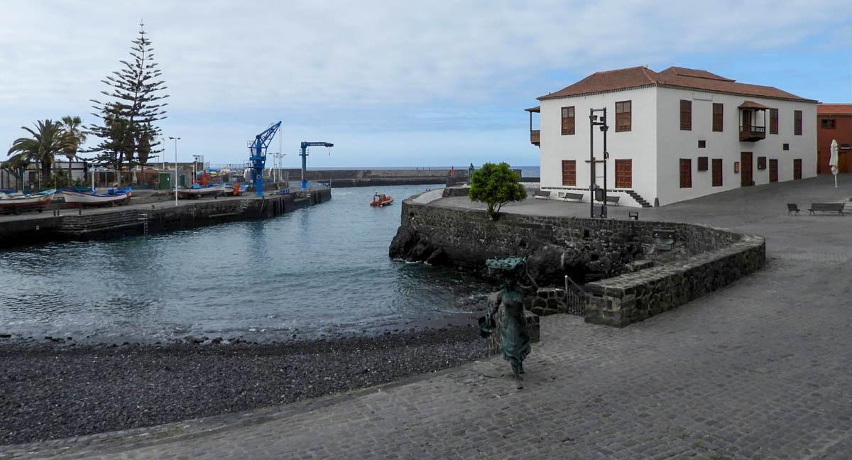 Muelle del Puerto de la Cruz - jueves santo 9-4-2020