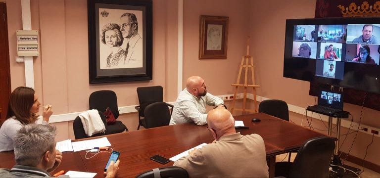 El gobierno local presenta a la oposición el Plan de Recuperación para la ciudad